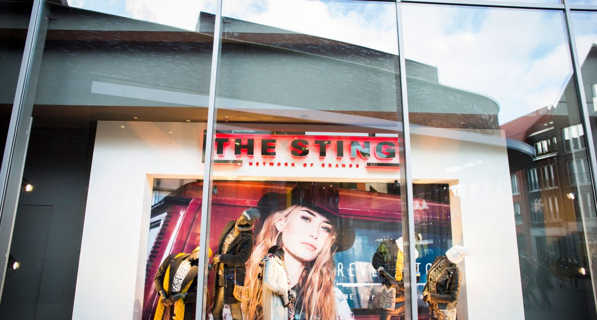 Sting Kleding.The Sting Check Venlo